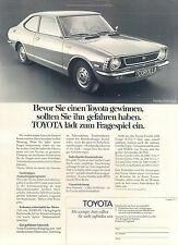 Toyata-1200-Coupe-1974-Reklame-Werbung-vintage print ad-Vintage Publicidad