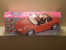 Barbie PORSCHE BOXSTER Sports CAR with MOTORIZED Convertible TOP(1998)