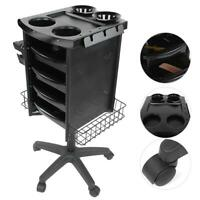 Beauty Salon Trolley Multi-Layer Movable Hairdressing Cart Tool Holders Stand