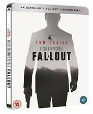 Mission Impossible: Fallout (2018) 4K Blu-ray 3 Disc Steelbook - LIKE NEW