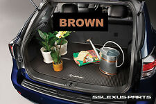 Lexus RX350  RX450H (2010-2015) ALL WEATHER CARGO MAT (Brown) OEM PT908-48101-14