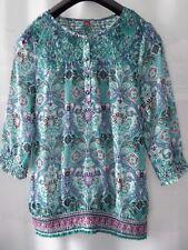 NEU S.Oliver Traumhafte Damenbluse Tunika Polo Langarm Gr 36 Rundhals Polyester