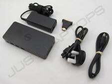 Dell D3100 USB 3.0 4K Full HD 1080p Monitor de triple estación de acoplamiento con Adaptador de CA