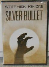 Silver Bullet (DVD, 2017) RARE 1985 STEPHEN KING HORROR THRILLER BRAND NEW