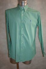 CHEMISE POLO  RALPH LAUREN CUSTOM FIT TAILLE L DRESS SHIRT/CAMISA/GOLF/CAMICIA
