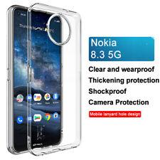 For Nokia 8.3 5G / 5.3 / 1.3 / 7.2 / 6.2 / 2.2 IMAK Clear Soft Gel TPU Back Case