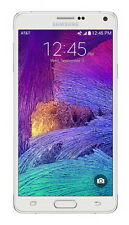 "MINT Samsung Galaxy Note 4 SM-N910A UNLOCKED AT&T 5.7"" 32GB Smartphone WHITE"