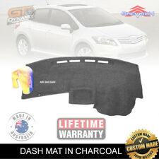 DASH MAT to Suit TOYOTA Corolla Hatch ZRE152 04/2007 to OCT/2012 DM1045 Charcoal