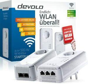 Devolo dLAN 500 AV WiFi Starter Kit Neu & OVP !!!!!