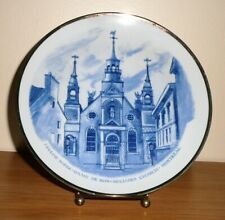 Eglise Notre Dame De Bon Secours Church Montreal Decorative Plate 8 Inches