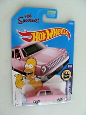 The SIMPSONS FAMILY car - HW SCREEN TIME - 9/10 - PINK - HW2015 - 1:64 Car