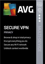 AVG Secure VPN Multi-Device 2021 | 10 Device 1 Year | Secure VPN