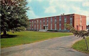 Hattiesburg Mississippi~William Carey College~Polk Hall for Men~1960s Postcard