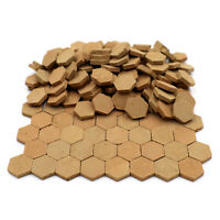 1/16 Model Hex Clay Bricks / Floor Tiles for Modelling and Dollhouses