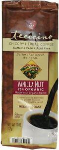 Vanilla Nut Chicory Herbal Coffee by Teeccino, 11 oz