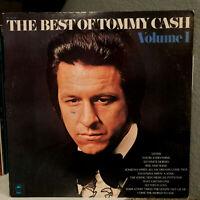 "TOMMY CASH - The Best Of Vol. 1 (1972 Pressing) - 12"" Vinyl Record LP - VG"