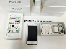 Factory Unlocked Apple iPhone 5S 4G 16GB LTE A1533 Silver GSM World Phone