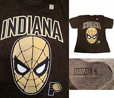 MARVEL NBA Indiana Pacers Spider-Man Men's Graphic T-Shirt (Small) - New