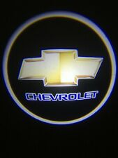 For Chevrolet Courtesy Door LED Logo Projector Light 2Pc Shadow Welcome Light