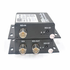 HD SDI Fiber Optic Media Converters 1Pair -  SDI Signal over Fiber 20Km for CCTV