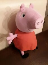 "13"" Talking Peppa Pig EUC Clean Works"