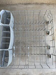 ***Frigidaire Dishwasher Lower Dishrack  with Silverware Basket***