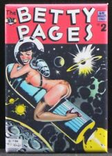 """The Betty Pages #2 Comic Book 2"""" X 3"""" Fridge Magnet. Betty Page GGA"""