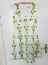 Traffic People Floral Print Summer Sleeveless  XS Pit to Pit approx 16 inch