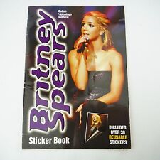 Britney Spears Sticker Book Early Career Collectible 2000