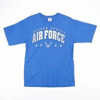 Vintage United States Air Force Blue Big Logo T-Shirt Size Men's Medium