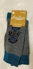 Lucky Brand Gray Boot Socks NWTs womens 9-11