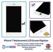iPhone 7 Screen Replacement 4.7'' LCD Digitizer Glass Display White A1660 A1778
