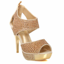Zip Wedge Evening Shoes for Women