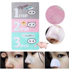 3 Steps Black Head Clear Kits Holika Pig-Nose Removal Cosmetic Masks Peel Scrub