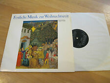 LP festliche Musik zur Weihnachtszeit Weihnachten Vinyl ETERNA DDR 8 26 992