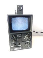 Vintage Commando National 505 TV  TR-505GB National Panasonic Retro Television