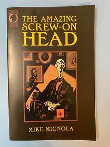 The AMAZING SCREW-ON HEAD # 1 Comic One-Shot ~ Mike Mignola ~2002 RARE 3rd Print