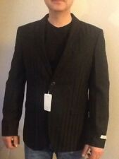 Nigel Hall Of London quality Mens Black Suit Jacket Size 42R New with tag