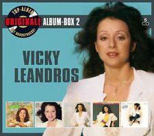 VICKY LEANDROS - ORIGINALE ALBUM-BOX 2 (DELUXE EDITION)  5 CD NEW+