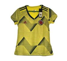Adidas Columbia World Cup Climacool Soccer Jersey Yellow BNWT Womens Size Medium