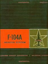 LOCKHEED STARFIGHTER - F-104A WEAPON SYSTEM SUPPORT