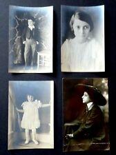 Antique Portraits of 4 Photographs Pre-1940