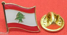Lebanon Country Flag Lapel Hat Cap Tie Pin Badge Brooch Lebanese