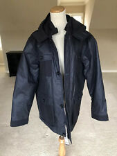 NWT Saint James Men's Blue Hooded Winter Coat Jacket Sz L