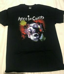 ALICE IN CHAINS FACEBREAKER T-Shirt  Aust Stock M L XL Size Get it Quick