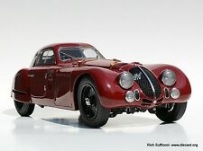 1938 Alfa Romeo 8C 2900 B Speciale Touring Coupe Diecast Model CMC 107