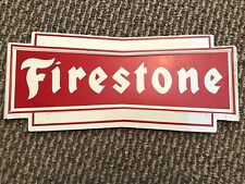 "Firestone Sign, 13""X5.5"""