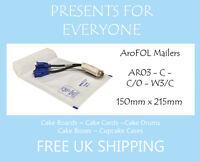 100 x AroFOL White Kraft AR03 JL0 Bubble Lined Padded Mailing Envelopes Bags
