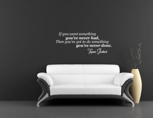 Tupac wall art sticker Music quote Lyrics Home decor Bedroom lounge motivational