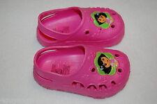 Toddler Girls Clogs Dora The Explorer Preformed Pink L 9-10 Nickelodeon